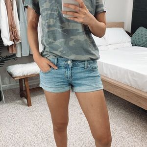 Hollister - Light Washed Denim Shorts
